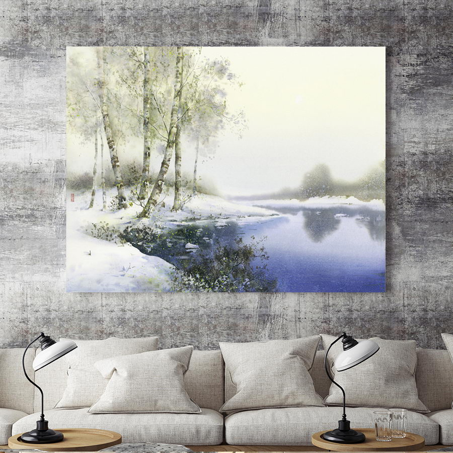 Atlas Decoration Us 6 Home Decoration Print Canvas Wall Art Picture Poster Paintings Horizontal Dong Kecheng Watercolor Hd Atlas Ship In Painting Calligraphy