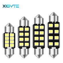 Festoon 31 Mm 36 Mm 39 Mm 42 Mm Bohlam LED C5W C10W Super Bright 2835 SMD CANBUS Kesalahan Gratis auto Interior Doom Lampu Mobil Styling Lampu(China)