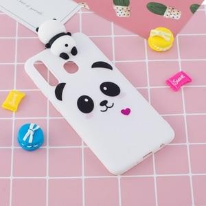 For Huawei Y6 Y7 Y9 2019 Case Huawei Enjoy 8S 9S Soft TPU 3D Cartoon Panda Unicorn For Coque Huawei P30 P 30 Pro P30 Lite Case(China)