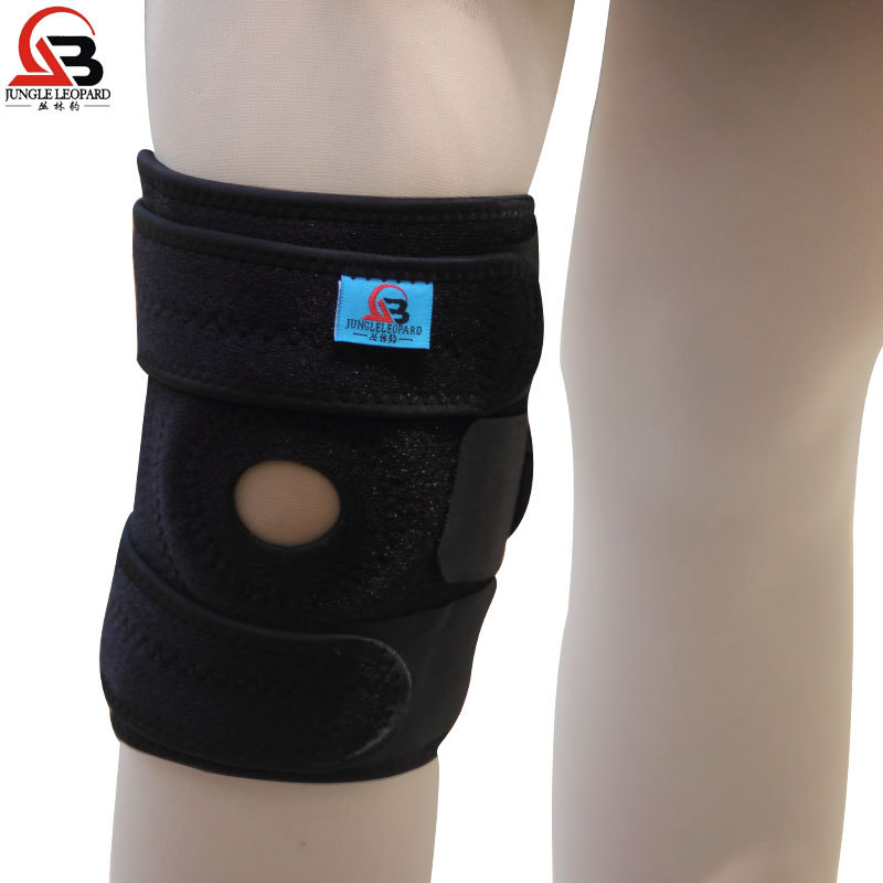 1 pair 2 pieces of antiskid knee outdoor sports men and women running 4 root spring basketball badminton To keep warm