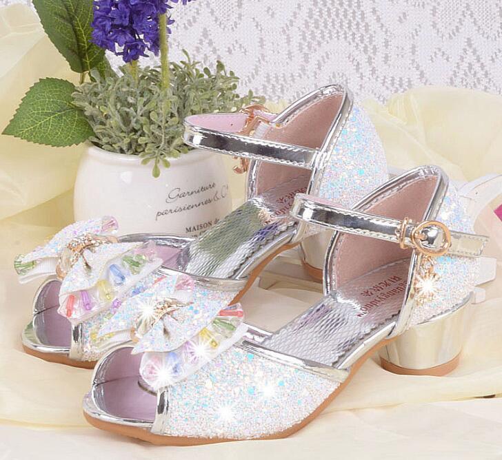 Nieuwe zomer meisjes prinses sandalen kinderschoenen kinderen meisjes - Kinderschoenen - Foto 3