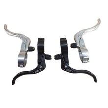 1Pair Aluminum MTB Road Bike Cycling Lever Side Pull Brake 24 / 26 / 31.8 mm CNC Bicycle Brakes Bike Parts