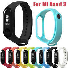 smartband fitness band Replacement Sports Soft TPE Silicone Replacement Wristband Wrist Strap For Xiao Mi Band 3