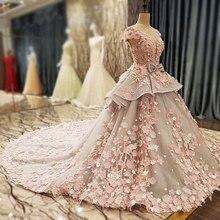 AIJINGYUงานแต่งงานชุดเดรสงานแต่งงานชุดโรแมนติก2021เจ้าหญิงGownsภาพที่ยอดเยี่ยมงานแต่งงานชุด