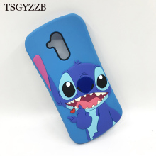 For Huawei Mate 20 Lite Case New Cute Cartoon Lilo Stitch Blue Soft Silicone Phone Back Coque Funda