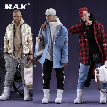 1/6 Male Clothes Set Fashion MR.Z's Mini Closet MA-1 Flight Jacket Sets with Canvas Bucket Bag Style A/B/C for 12'' Figure Body - discount item  26% OFF Action & Toy Figures