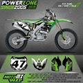 Customized Team Graphics Backgrounds Decals 3M Custom Stickers Classic For KAWASAKI KX250F KX450F KXF KLX 450 250 MX Enduro