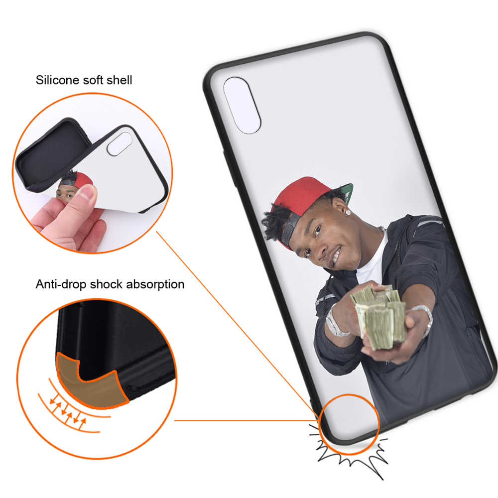 Lil Baby Quando Rondo Soft Case For Iphone Xs 11 Pro Max Xr X 7 8 6 6s Plus Cover