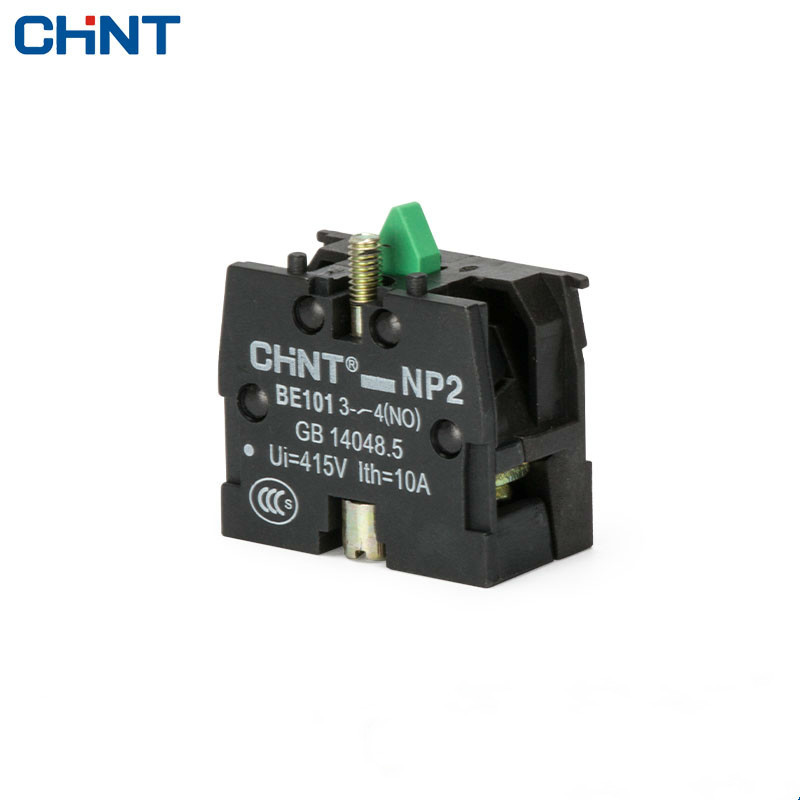 CHINT Button Switch Enclosure NP2 Contact Group NP2-BE101 1 Normally Open 10A