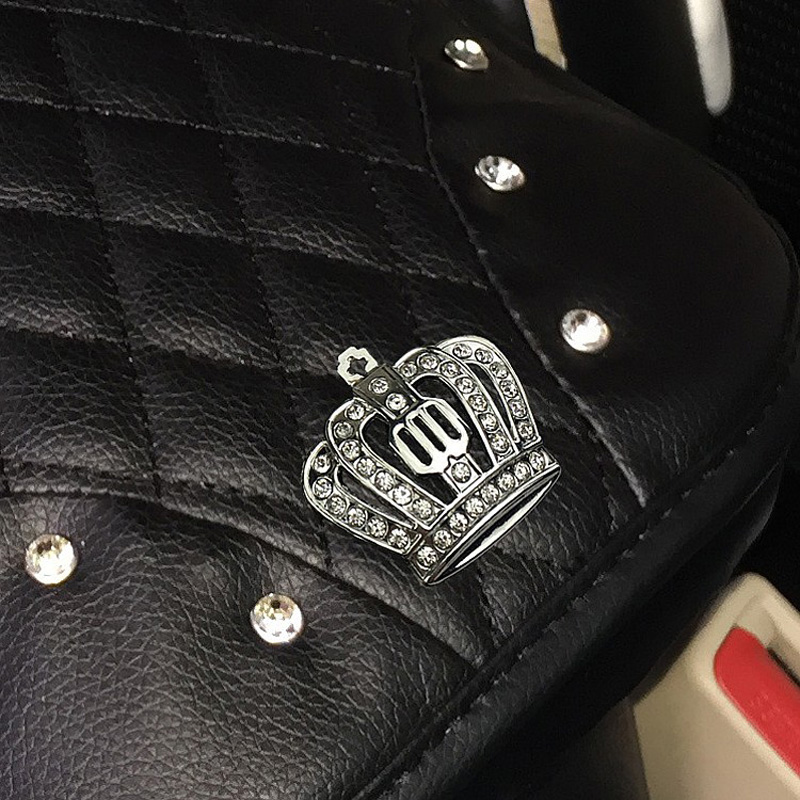 Crown-with-Crystal-Rhinestone-Car-Armrests-Cover-Pad-PU-Leather-Vehicle-Center-Console-Arm-Rest-Box-2
