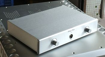 Pre Amplifier Chassis  Aluminum Case DAC Amp Shell /DIY home audio amp case