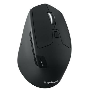 Logitech M720 Bluetooth/2.4Ghz Wireless Gaming Mouse Ergonomic Optical Mice Support Multi-device Switch for PC Gamer