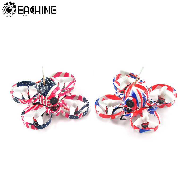 Eachine US65 UK65 65mm Whoop FPV Racing Drone BNF Crazybee F3 Flight Controller OSD 6A Blheli