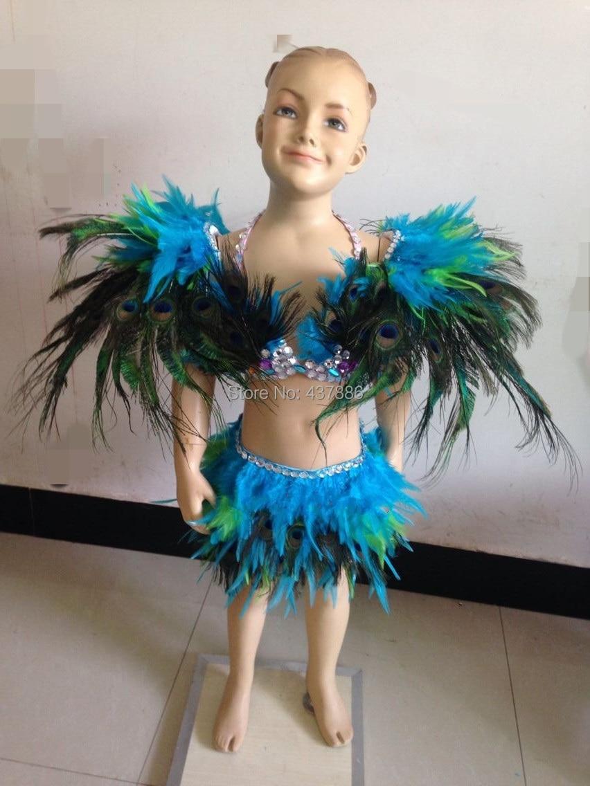 Carnevale Piuma Copricapo Parata del Circo Clown Costume Accessorio