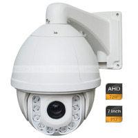 7'' AHD Analog HD CCTV Outdoor High Speed PTZ Camera 720P 1.0MP 20X ZOOM 150M IR