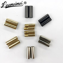 LEEMEIMEI 4PCS Metal Aglets For YEEZY Shoe Laces Tips DIY Replacement Screw On No Glue (LMMY03)(China)