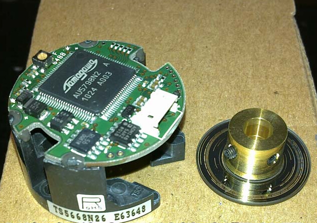 цена на Rotary Encoder Resolver TS5668N26 Working for Servo motor W series special encoder