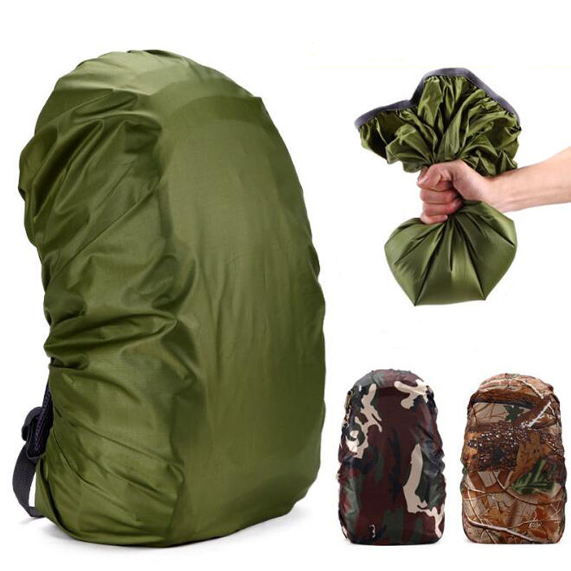 35L 2018 New 45L Adjustable Waterproof Dustproof Backpack Rain Cover Shoulder Bag Case Raincover Protect Outdoor Camping Hiking