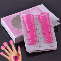 26Pcs/lot Nail polish spill-proof plastic model tool clip genuine nail spill Armor Artifact