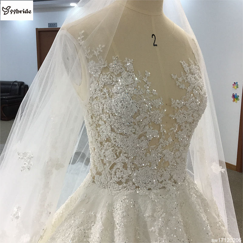 sw17120206-3 surmount custom made royal train wedding dresses 2018 ball gown long sleeves robe de soiree long robe de mariage wedding dresses Surmount Custom Made Royal Train Wedding Dresses 2018 Ball Gown Long Sleeves robe de soiree Long robe de mariage Wedding dresses HTB1mKWcglDH8KJjy1zeq6xjepXaS