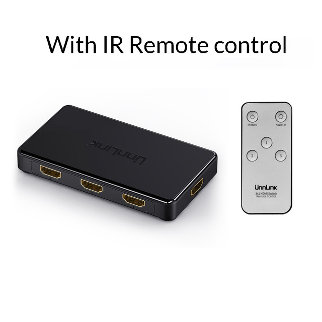 HDMI 2.0 3X1 with IR