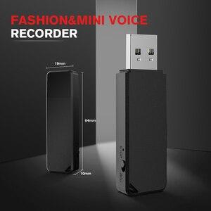 Image 3 - Vandlion 32G 64GB Rechargeable Mini Dictaphone WAV stylo Audio lecteur USB numérique enregistreur vocal Gravador de voz professionnel X1