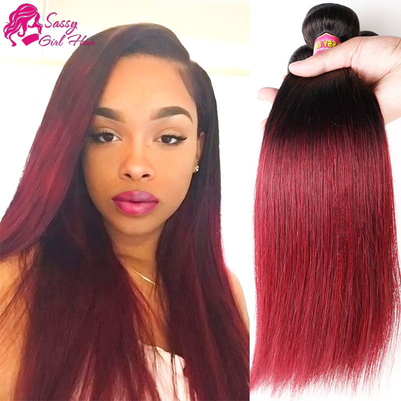 Buy Red Human Hair Weave Remy Indian Hair