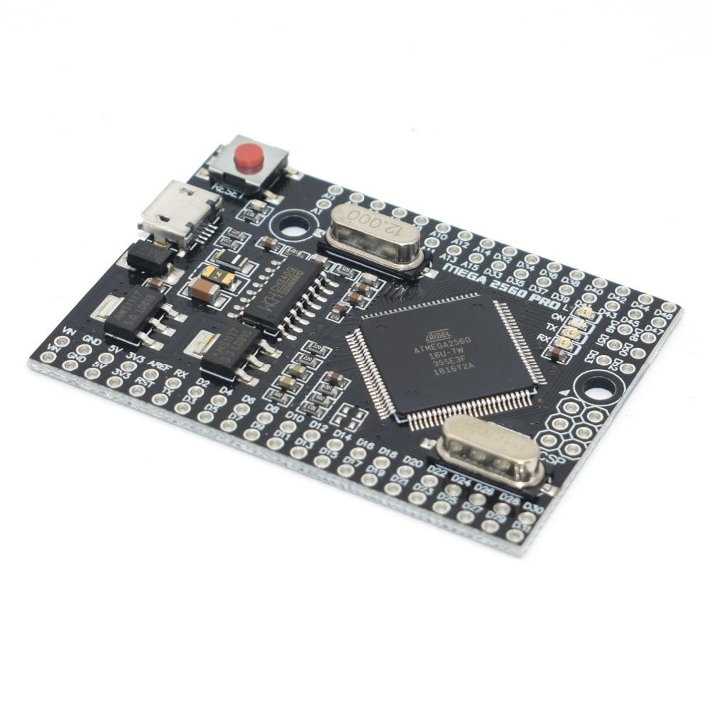 MEGA 2560 PRO Embed CH340G/ATMEGA2560-16AU Chip z męskimi pinheads kompatybilny dla arduino Mega2560 DIY 3
