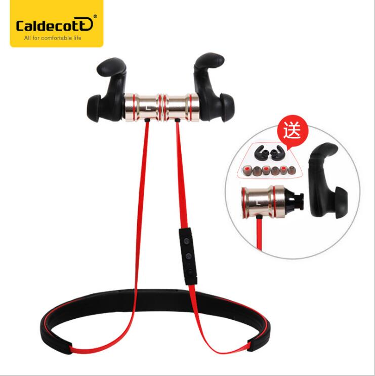 все цены на Free shipping BTH816 gold color Bluetooth headset neck hanging motion Bluetooth headphone  stereo wireless bluetooth earphone онлайн