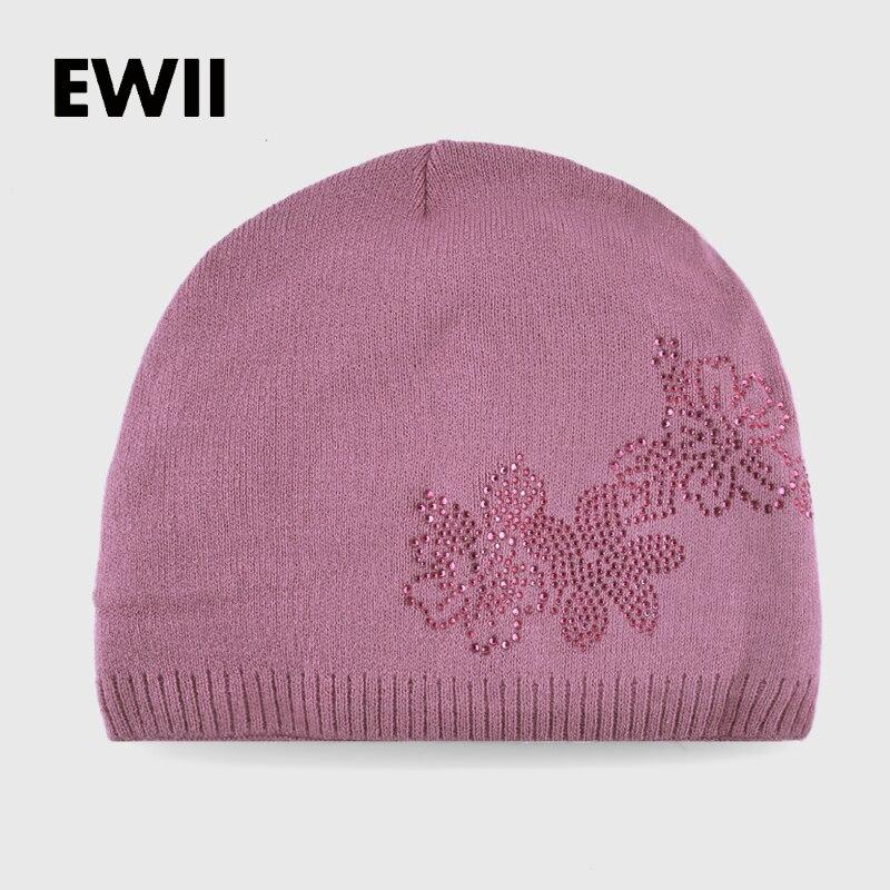 2017 chapéus de inverno para a mulher beanie hat skullies gorros tampas de malha gorro de lã mulher gril quente casual cap touca feminina óssea