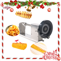 Hot Selling! Manual Twisted Potato Cutter,Potato Chips Slicer,High Quality French Fry Cutter, Fast Delivery!