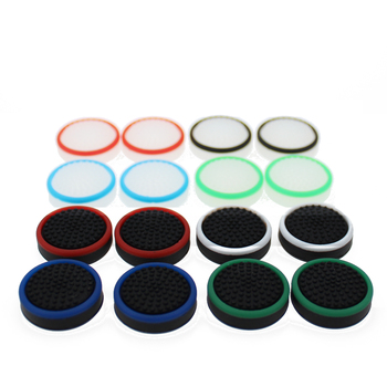 TingDong 4 pcs Silicone Grip for Nintend Switch NS Joy Con Controller Joystick Cover for Joy-Con Analog Thumb Stick Cap ivyueen 5 in 1 for nintend switch ns console handle grip protective cover with 4 thumb stick caps case for joy con controller