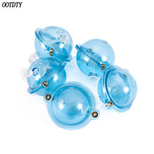 5 Pcs/Set Fishing Float ABS Plastic Balls Water Ball Bubble Floats Tackle Sea Outdoor Accessories Blue Red 25/32/40/47mm