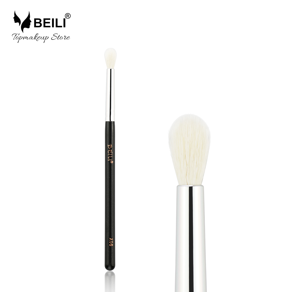 BEILI X06 Black Eye Shadow Concealer Natural Goat Hair Makeup Brush блендер starwind sbp6757w