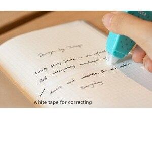 Image 5 - 12 יח\חבילה אבטיח קלטות תיקון 5mm מתקנת קלטת חמוד מכתבים ספר papelaria corretivo escolar F363