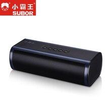 Subor D58 2018 Ny trådlös Bluetooth-högtalare Bärbar TF Audio Box Stereo Med Mikrofon Handsfree USB HiFI För iPhone Xiaomi PC Mode