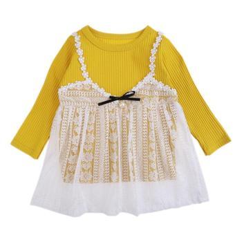d98b1219f1ff1d5 Product Offer. Новые белые для маленьких девочек летнее кружевное платье ...