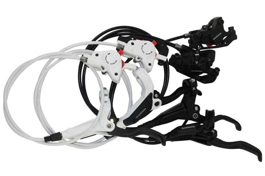 Shimano BR M445 M446 M447 brake Cycling Bike Bicycle Hydraulic Brake Sets Front and Rear Biking
