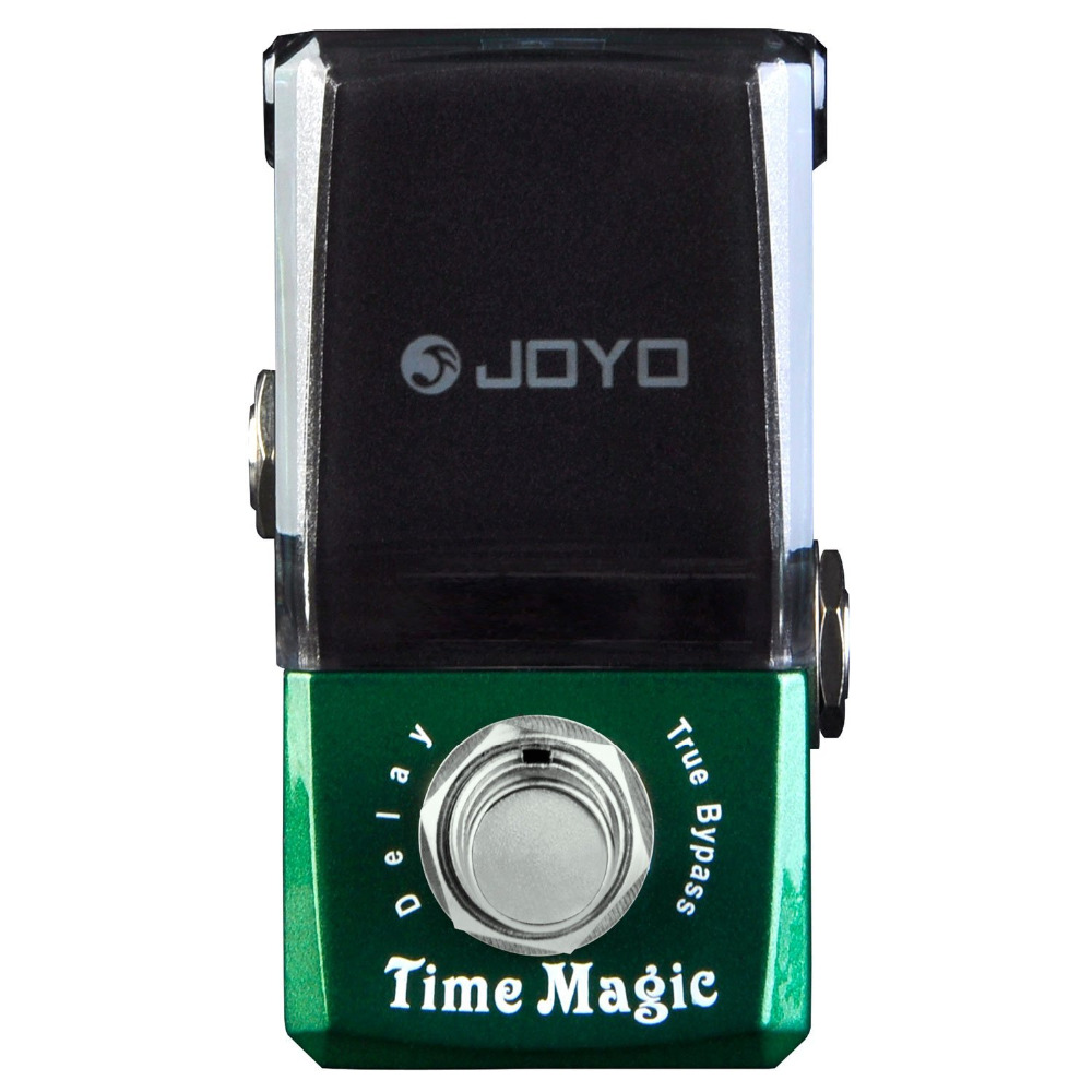 JOYO JF-304 Time Magic Delay Mini Electric Guitar Effect Pedal with Knob Guard True Bypass joyo jf 317 space verb digital reverb mini electric guitar effect pedal with knob guard true bypass