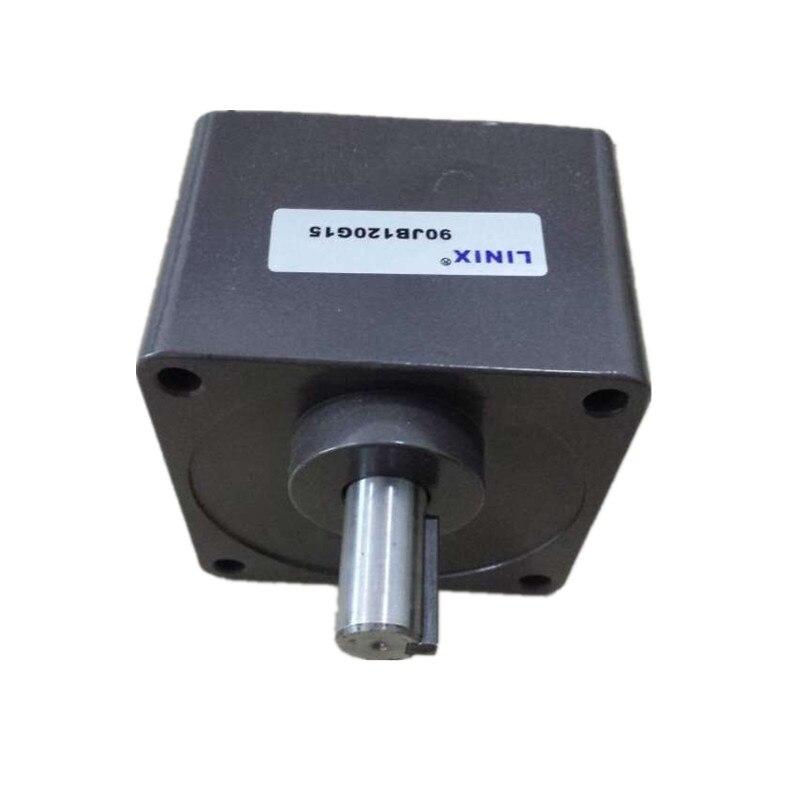 Linix gear motor reducer gearhead gear box 90JB120G15 speed ratio 1 120