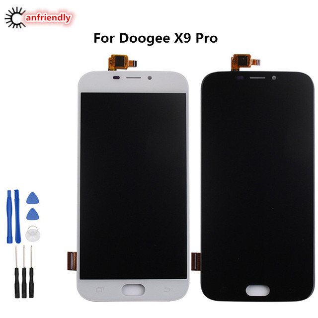 For Doogee X9 Pro X9pro LCD Display + Touch Screen Digitizer Assembly Replacement Glass Panel For Doogee X 9 Pro lcds repair new
