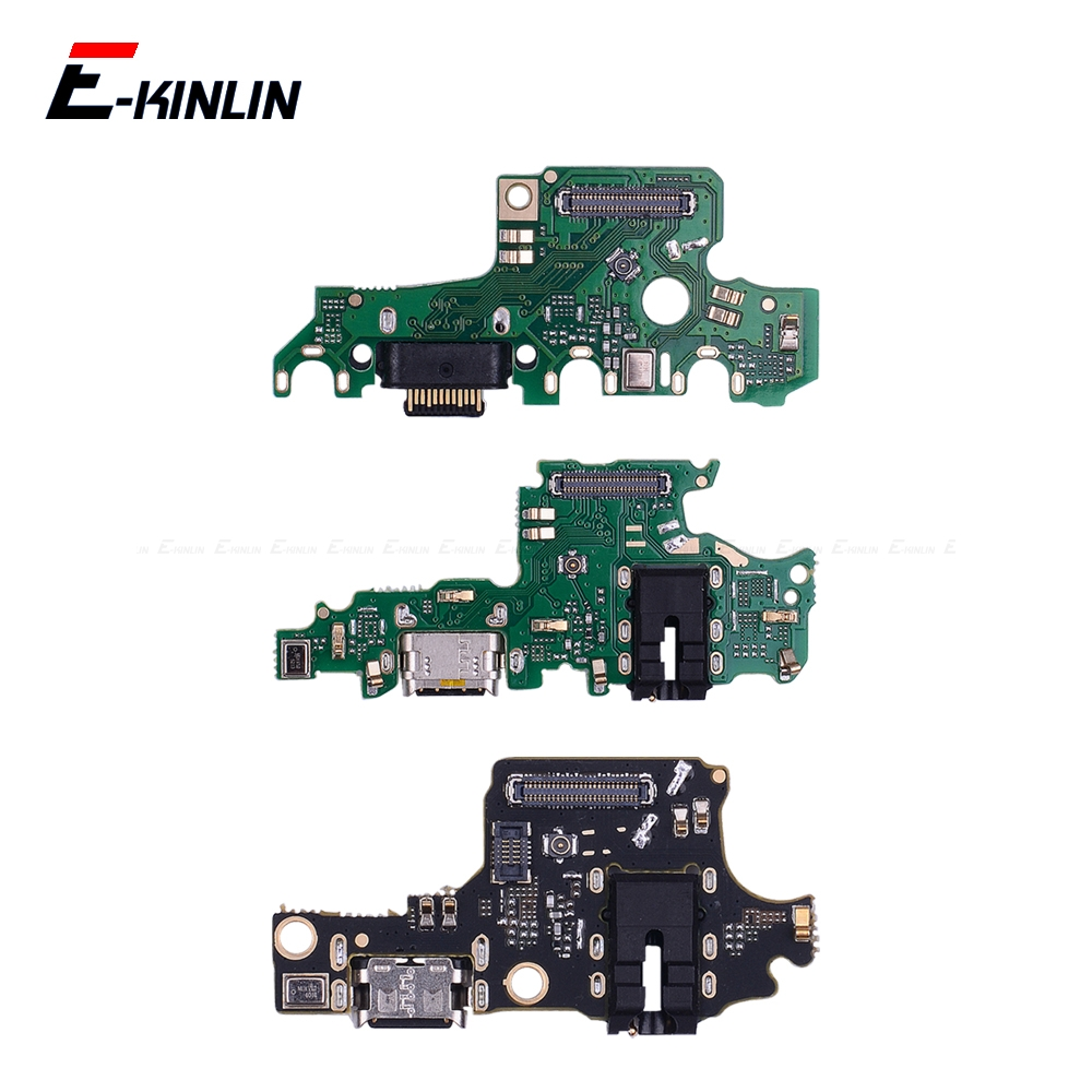 Power Charging Connector Plug Port Dock Board With Mic Flex Cable For HuaWei Honor View 20 Note 10 9 9i 9 8C 8X Max Pro Lite