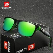 DUBERY Brand Design Polarized Black Sunglasses Men Driving Shades Male Retro Sun Glasses For Summer Mirror Square Oculos