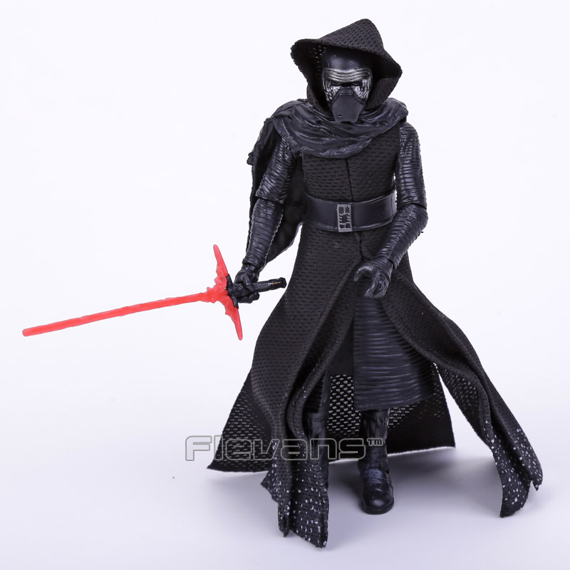 NEW HOT Star Wars 7 The Force Awakens Kylo Ren PVC Action Figure Collectible Model Toy 16cm 2016 new 26cm movie the force awakens the black series kylo ren cartoon toy pvc figure model action figures