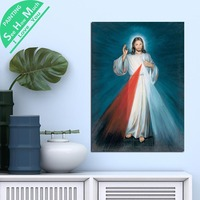 1 Piece Christian Jesus God Lord HD Printed Canvas Wall Art Posters and Prints Poster Painting Framed Artwork Room Decoration
