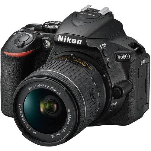 Nikon D5600 DSLR Camera with 18-55mm AF-P VR Lens (2017 New Release)