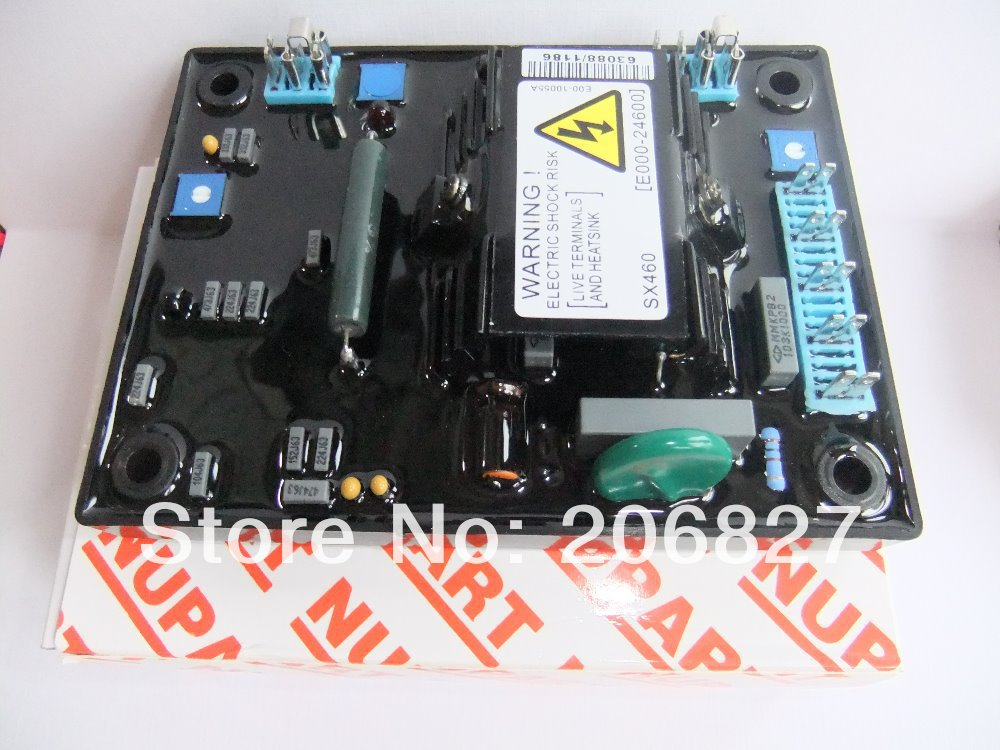 AVR SX460 FOR GENERATOR (RED CARTON) SUPPLIER Free Shiping to USA avr sx460 for generator common carton supplier made in china free shiping to usa