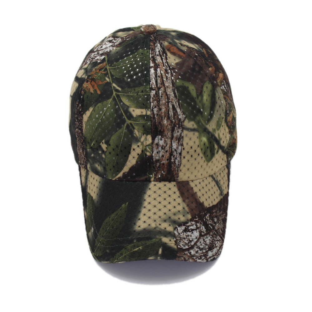 Jungle Old Tree Hat Hunting Fishing Camo Cap Adjustable Camcouflage Baseball Cap For Men (2)