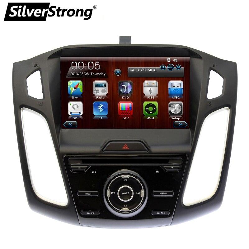 SilverStrong Voiture DVD pour FORD FOCUS3 système de navigation multimédia système dvd de voiture pour FOCUS 3 Radio Lecteur GPS antenne