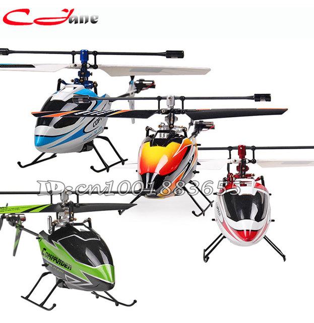Envío gratis V911 2.4G 4CH RC MINI Helicóptero Individual (orange rojo azul verde) Enchufe para WL Juega V911 nueva versión al aire libre